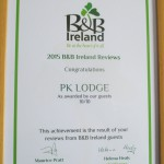 B&B Ireland Award 1